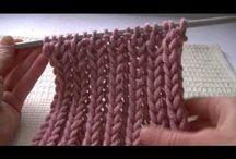 pletení / pletené vzory