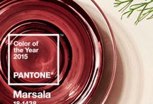 Pantone Color of the Year 2015 - Marsala