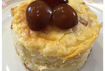 Desserts / Nach einem leckeren Essen muss es noch was Süßes geben.