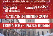 Mercatini del Carnevale Cremasco 4-11-18 febbraio Crema (CR)