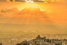 Granada Views / #Granada #Alhambra #Views #Panoramic #Sunset