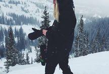 Mountains, Skiing