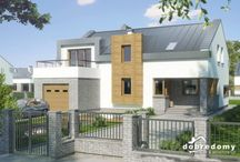 Nowoczesne projekty domów / Klasyka Cie nudzi? Te projekty domów będą idealne dla Ciebie!