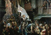 Jeane d' Arc / Maid of Orleans / by Jan van der Hoorn