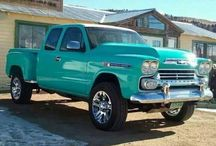 pick up, trucks