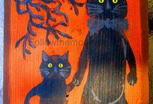 Halloween / Original Paintings and Prints