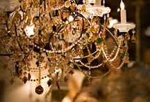 Chandeliers / by Jessica Waters Durrant