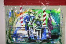 Art- Rolf Knie & Hans Erni