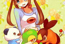Mei y Pokemon