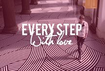 Every Step With LOVE