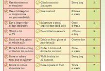 vekt og diett og trene