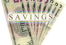 Savings / by Crystal Rangel