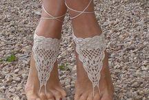 Barefoot crotchet