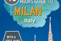 Milano / Travel, food and others pin about #Milan #travel #itineraries #italy #food #wine #tips #recipe #events #restaurant