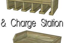 Garage Organization / DIY project to organize the garage.
