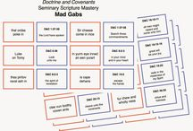 Seminary / Free printable and ideas for teaching Seminary