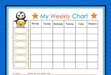 Daily Routine Charts / Daily routine charts help to keep track of repetitive tasks for children such as making their bed, cleaning up their toys, or eating their dinner. Get free routine charts at Latitudes.org.