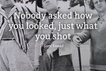 Golf Quotes / Quotes from famous golfers that really ring true for the rest of us.