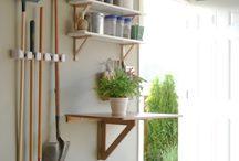 basement & garage organization  / by tiffany meredith