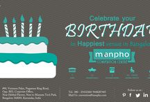 Birthday / Visit us at www.manphoconvention.com To book or enquire call us: 9448287405