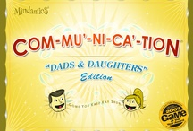 Dads and Daughters / This fun and unique game makes it easier for dads to build a better relationship with their daughters.  This effective communication game was based on advice from a panel of family counselors. www.mindamics.com
