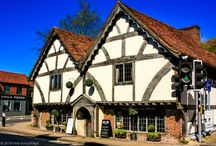 Winchester, England / Ancient capital of England. Древняя столица Англии, соборный город Винчестер.