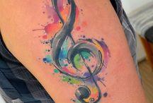 Музыка, Татуировки