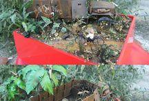 Monkey truck / Gun truck Vietnam scratch building dioramas vehicles 1/35 www.tapir-models.ro