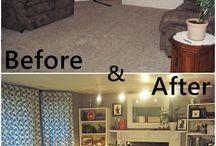 Avant/après / Bel Lighting, créateurs de luminaires extérieurs et intérieurs. http://www.bel-lighting.com/