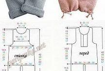 Вязание одежда и обувь