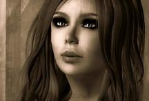Second Life portraits