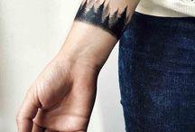 Tattoo: trees