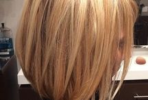 Highlight hair color / Buttery blonde highlights