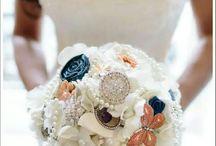 bouquets broche