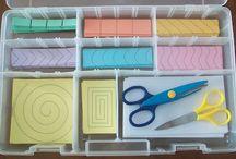 Montessori Art Shelf