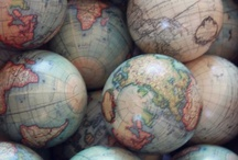 Globes & Maps / by Bobbie (Tracy Randolph) Moore