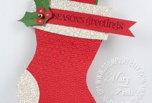 Stampin Up Holiday Stocking