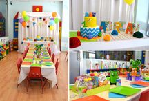 Colorful Monster 1st Birthday / by Cristy Mishkula @ Pretty My Party
