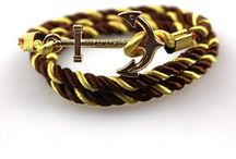 ARM040 / Looks you can make with our product on http://www.mightygoodman.nl/nl/english-fashion-zachte-satijnen-anker-armband-goud.html