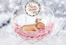 Christmas Photography Photoshop Templates