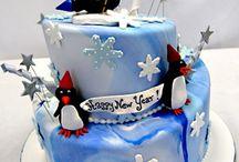 Año nuevo cake