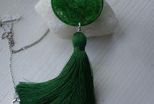 janeta ionescu tassels / jewelry