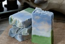 HOMEMADE Beauty and Bath / making soap and cleansers for body and bath.