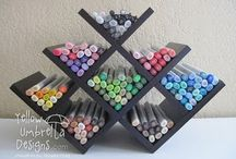 Markers and pens / Cool for drawing and journaling