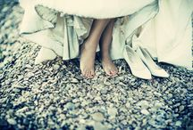 wedding feet & shoes / by Claire Zarebski-Papot