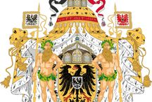 """Almanach de Saxe Gotha - German Empire - House of Hohenzollern /    The German Empire (German: Deutsches Kaiserreich) is the common name given to the state officially named the Deutsches Reich (literally: """"German Realm"""", designating Germany from the unification of Germany and proclamation of Wilhelm I as German Emperor on 18 January 1871, to 1918, when it became a federal republic after defeat in World War I and the abdication of the Emperor, Wilhelm II. The German Empire consisted of 27 constituent territories. http://www.almanachdegotha.org/id133.html"""