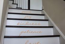 Welcome Home / Decals for your home Entrance  #decals #walldecals #wall #decal #walldecal #home #entrance #entry #welcome #sticker #door #frontdoor #walkway #windows #stairs #foyer