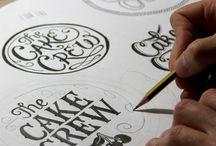 design - typography, illustration