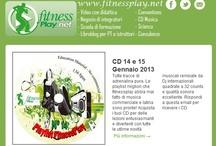 Newsletter fitness / Ogni mese invio dal sito www.fitnessplay.net le nesletter con le novità del sito. Ecco pubblicate anche su Pinterest!