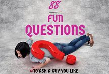 Dating Questions / Ever been stuck for conversation with your date? Find these helpful questions to break the ice.